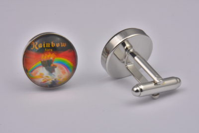 Rainbow Rising Album Cover Cufflinks
