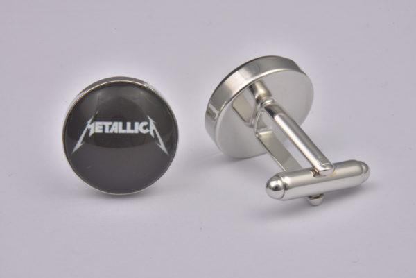 Metallica Logo Cufflinks