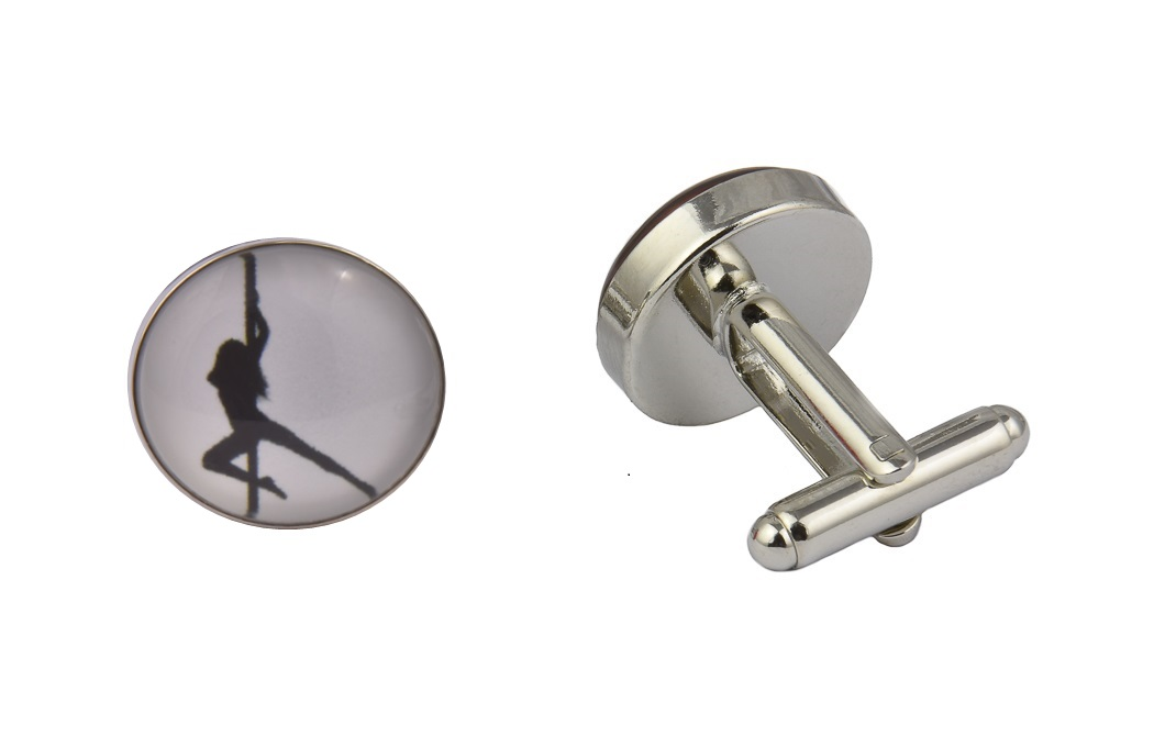 Erotic Dancer Cufflinks