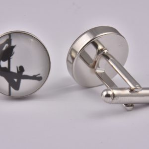 Erotic Dancing Cufflinks