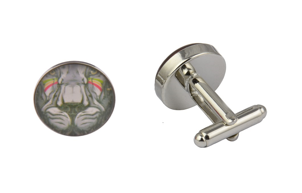 Lion Flag Art Cufflinks