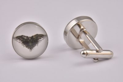 Game Of Thrones Crow Cufflinks