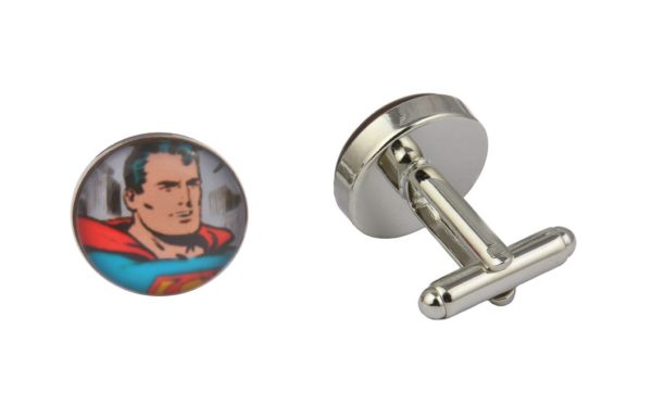 Comic Book Retro Superman Cufflinks