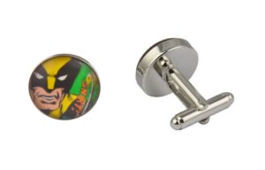 Comic Book Retro Wolverine Cufflinks
