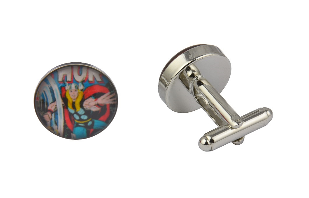 Superhero Thor Retro Cufflinks