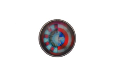 Iron Man Captain America Lapel PIn