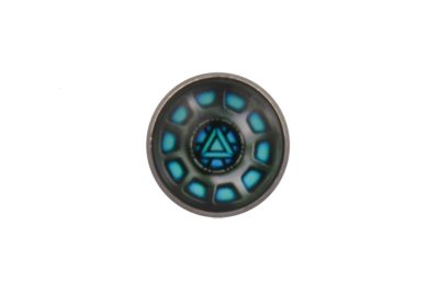 Iron Man Reactor Blue Lapel Pin