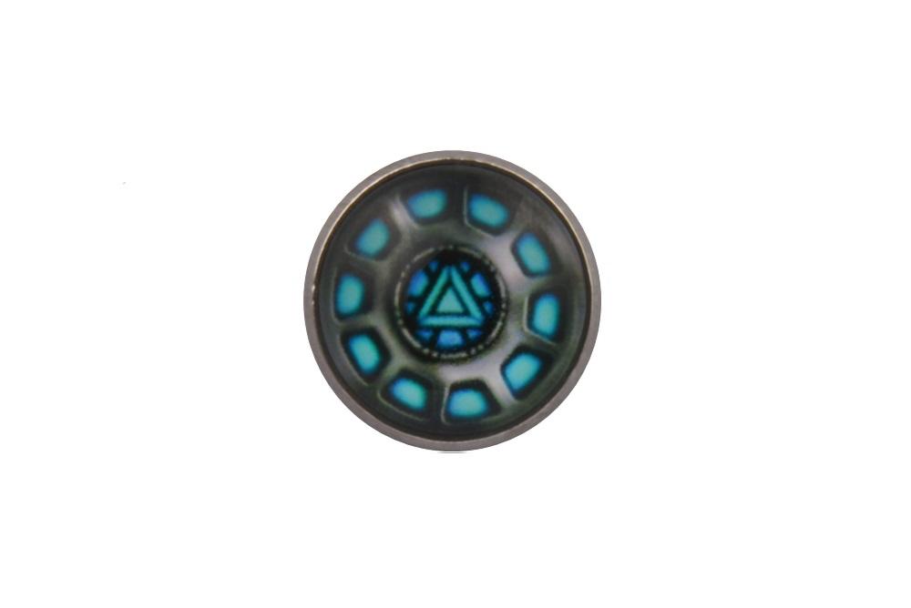 Iron Man Reactor Blue Lapel Pin