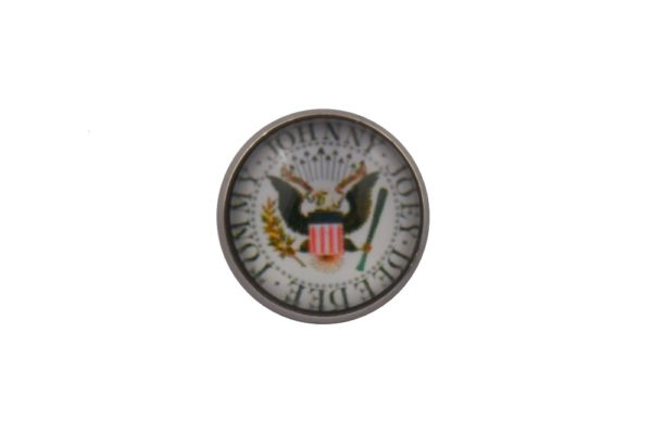 Ramones White Lapel Pin