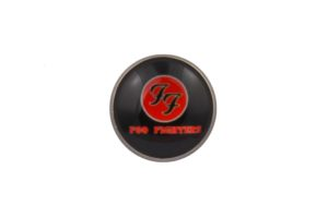 Foo Fighters Black Lapel Pin