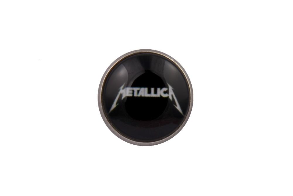 Metallica Black Lapel Pin