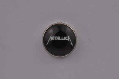 Metallica Black Lapel Pin