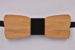 Wooden Bow Tie Plain