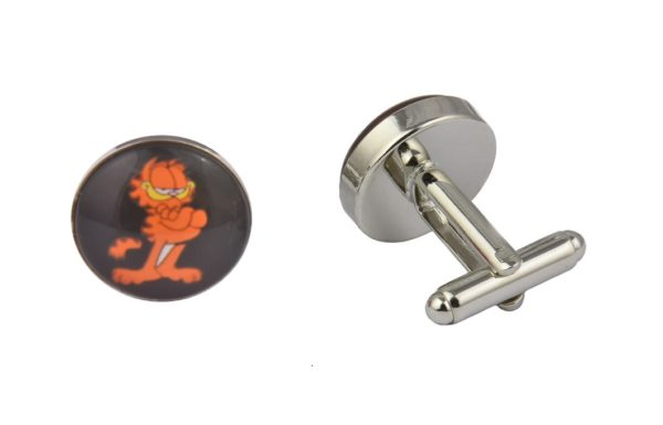 Garfield Cartoon Cufflinks
