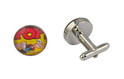 Popeye Cartoon Cufflinks