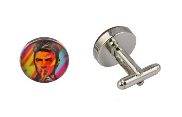 Bowie Street Art Cufflinks
