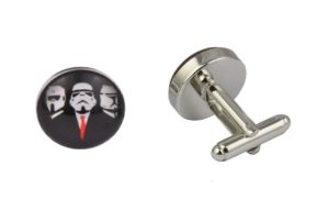 Star Wars Storm Trooper Suited Cufflinks