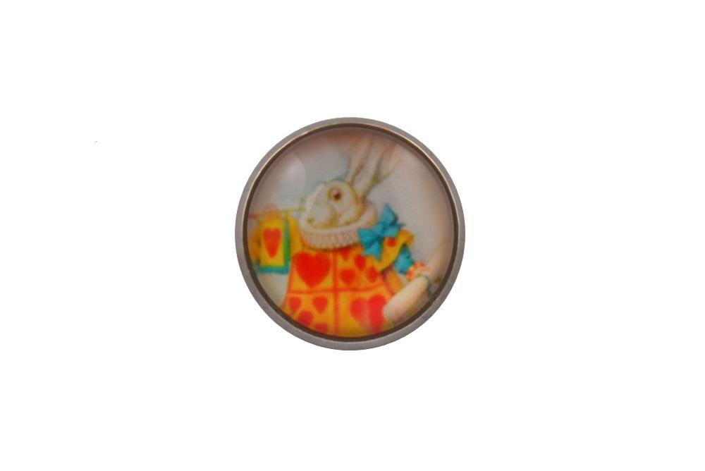 Alice In Wonderland Lapel Pin Badge