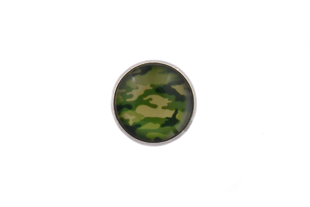 Camouflage Lapel Pin Badge