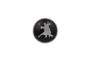 Ballroom Dancing Lapel Pin Badge