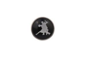 Ballroom Dancing Lapel Pin Badge
