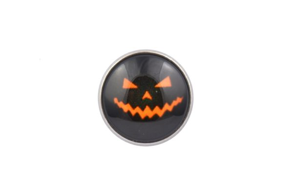 Halloween Pumpkin Lapel Pin