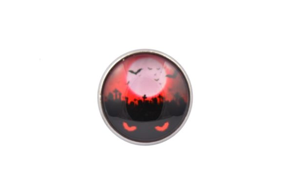 Halloween Red Eyes Lapel Pin