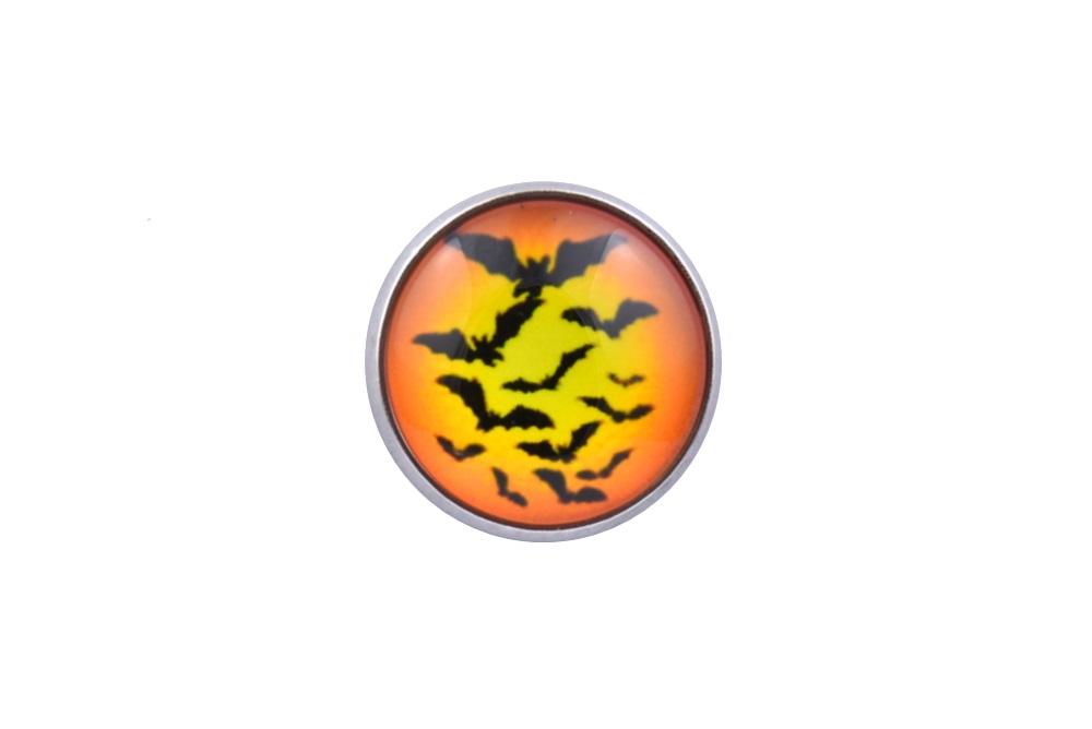 Halloween Bats Lapel Pin