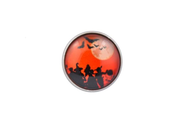 Halloween Trick Or Treat Lapel Pin