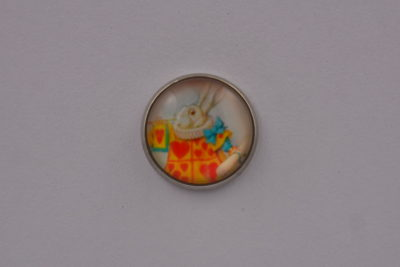 Alice In Wonderland Lapel Pin Badge