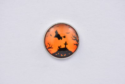 Halloween Witch Lapel Pin