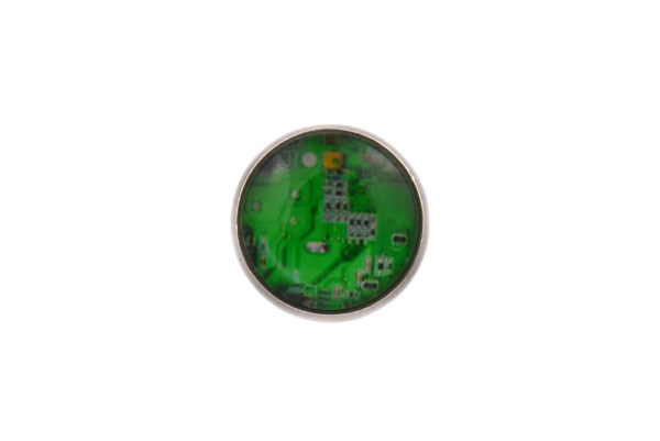 Computer Circuit Green Lapel Pin Badge