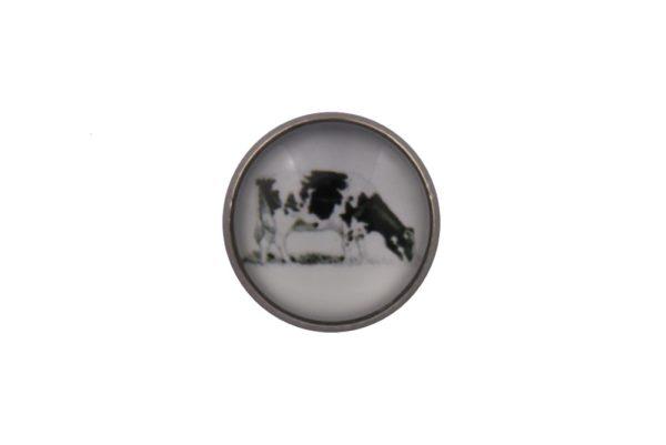 Cow Lapel Pin Badge