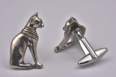 Egyptian Cat Cufflinks