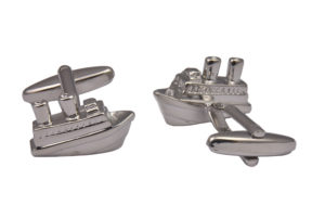 Cruise Ship Cufflinks