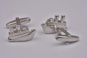 Cruise Ship Cufflinks