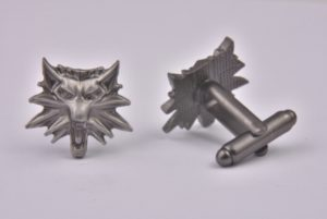 Grey Wolf Cufflinks