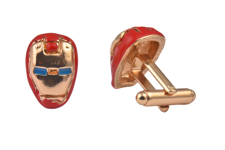 Iron Man Mask Cufflinks