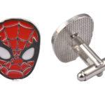 Spiderman Metal Cufflinks