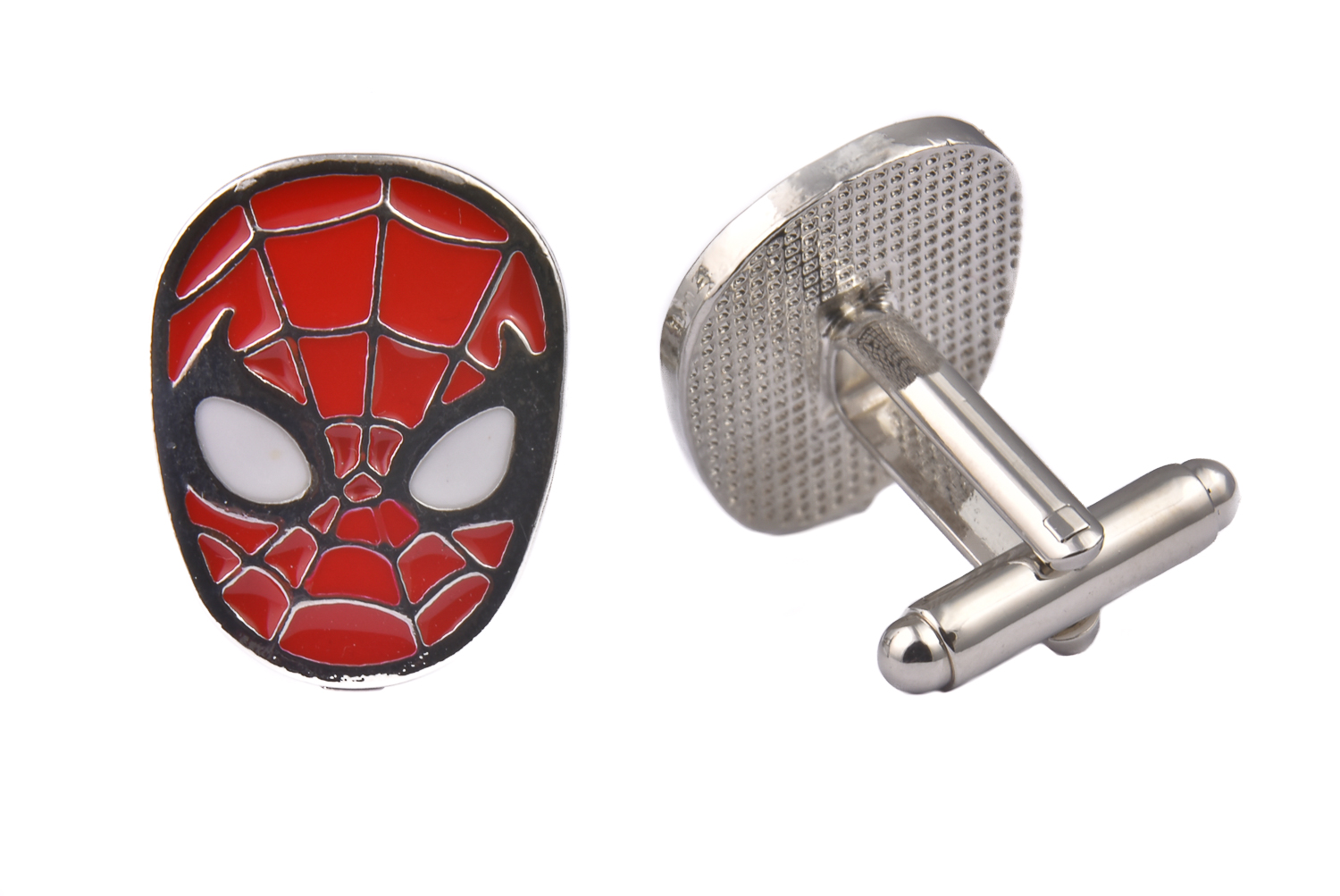 Spiderman Metal Cufflinks
