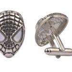 Spiderman Silver Cufflinks
