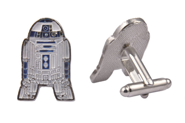Star Wars R2D2 Metal Cufflinks