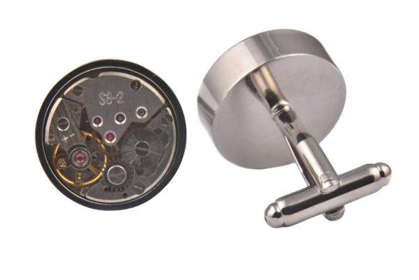 Luxury Exposed Watch Dial Cufflinks