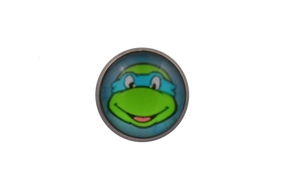 Teenage Mutant Ninja Turtle Leonardo Lapel Pin Badge