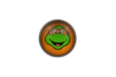Teenage Mutant Ninja Turtle Michelangelo Lapel Pin Badge
