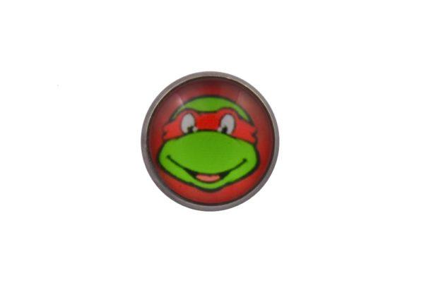 Teenage Mutant Ninja Turtle Raphael Lapel Pin Badge