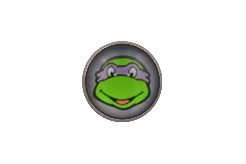 Teenage Mutant Ninja Turtle Donatello Lapel Pin Badge