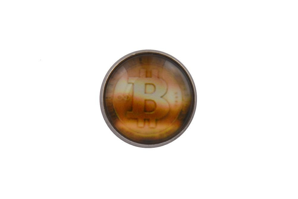 Bitcoin Lapel Pin Badge