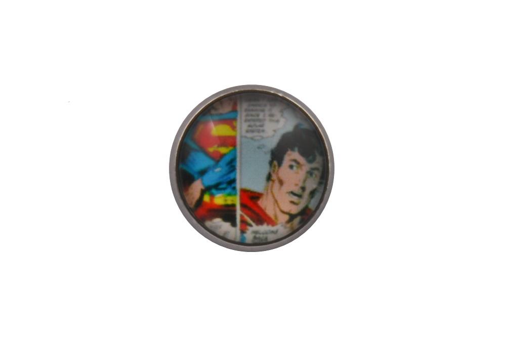 Comic Book Superman Lapel Pin Badge