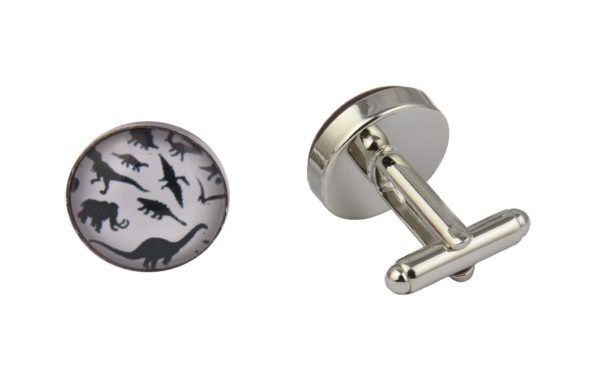 Dinosaur Art Cufflinks